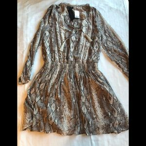 Banana Republic Snakeprint Dress